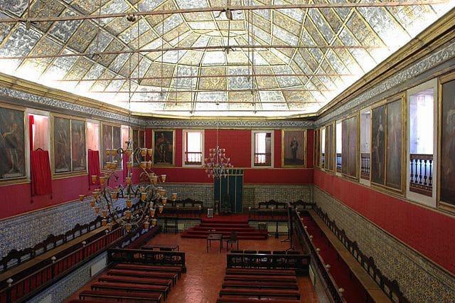 Sala dos Capelos Universidade de Coimbra