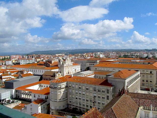 Vista da Torre Coimbra