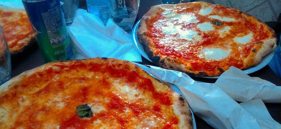 a história da pizza