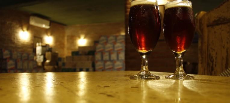 Visita à fabrica da cervejaria Wäls, em BH