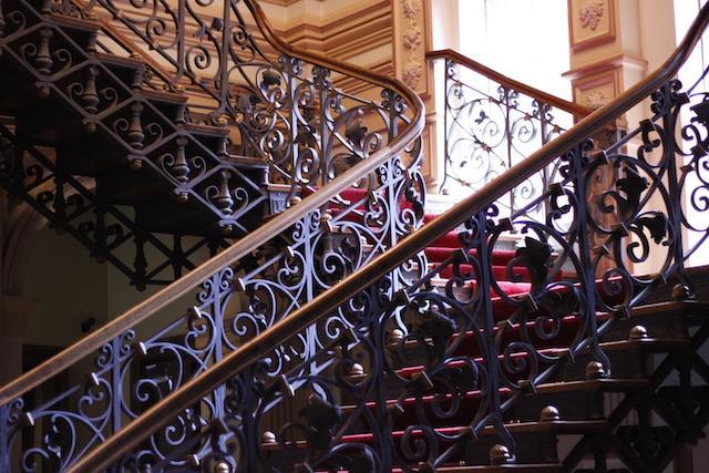 Escadaria do Memorial Minas Gerais Vale BH