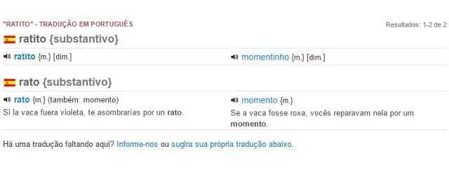 Espanhol x português