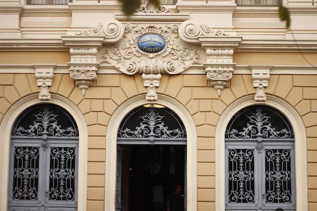 Fachada do Memorial Minas Gerais Vale BH