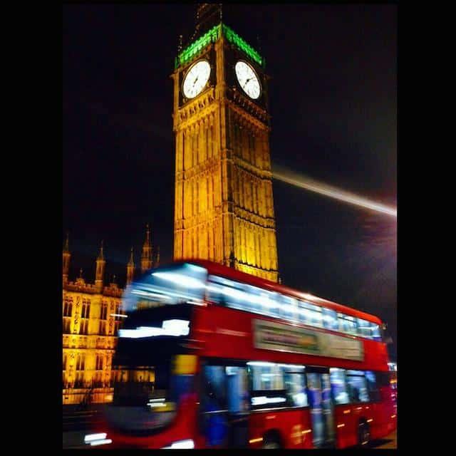 Imigração em Londres Big Ben