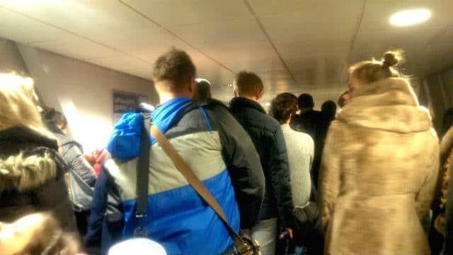 Imigração em Londres_Stansted