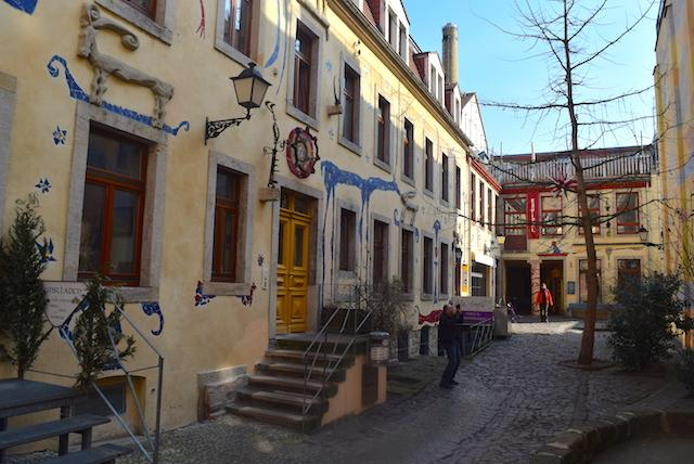 Kunsthof Neustadt em Dresden