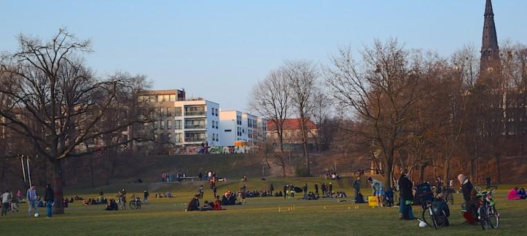 A colorida república de Neustadt, em Dresden