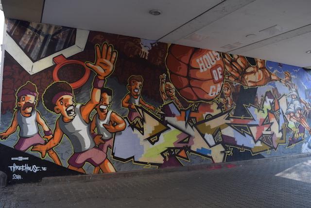 Neustadt em Dresden grafite