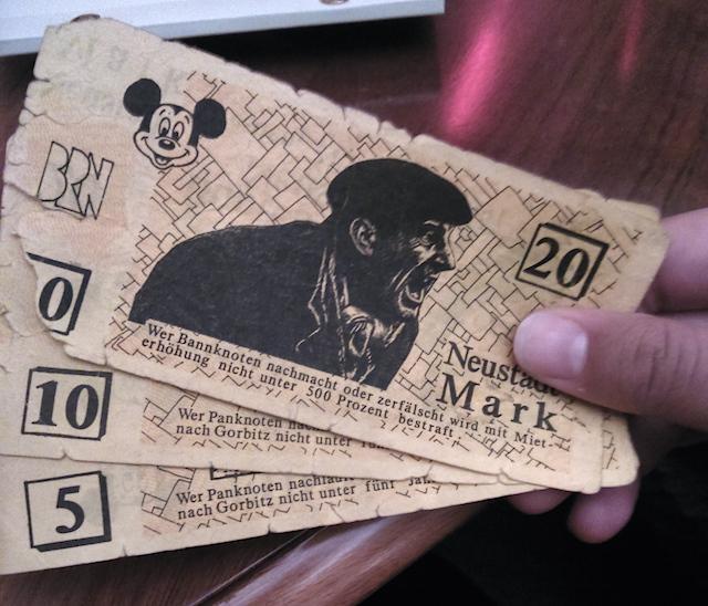 Neustadt em Dresden moeda