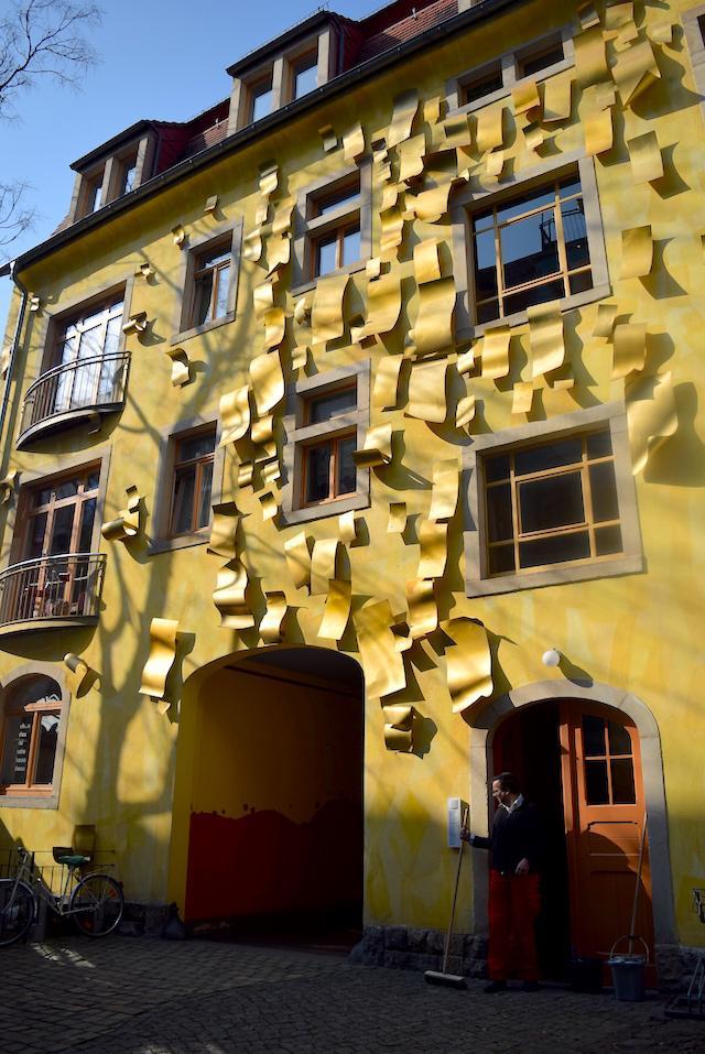 Neustadt em Dresden passagem