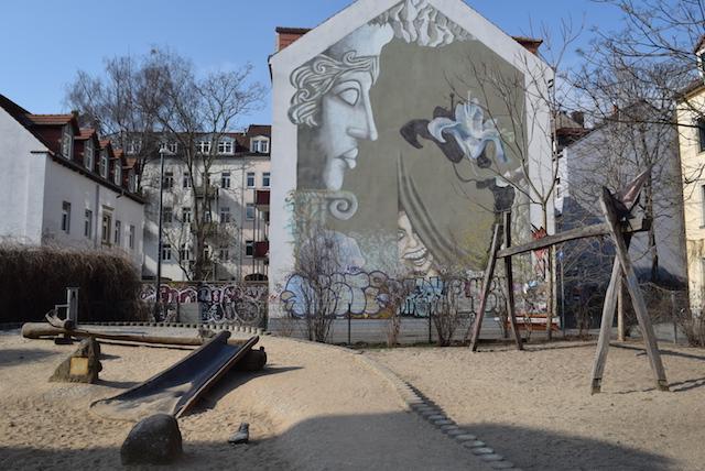 Neustadt em Dresden playground
