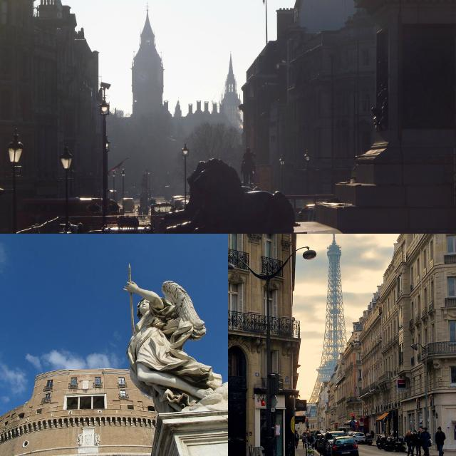 Paris-Londres-Roma