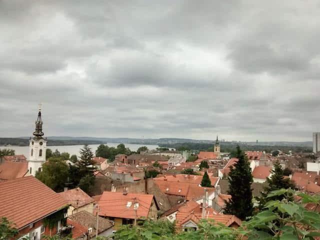 Vista de Zemun Belgrado