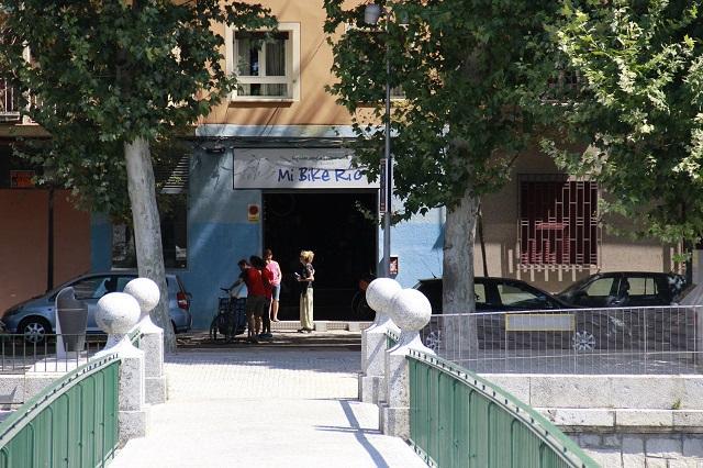 Bicileta em Madrid