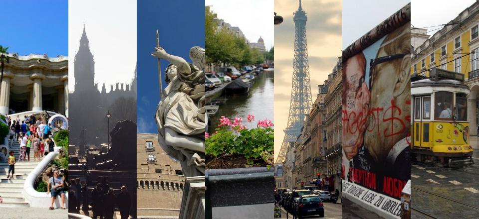 10 ideias de roteiros de viagem pela Europa
