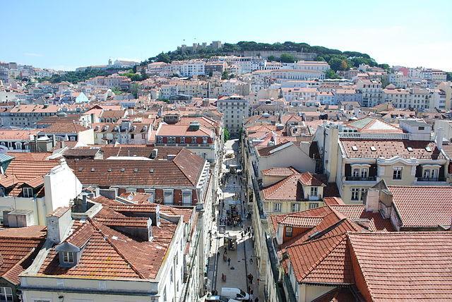 Lisboa_-_Baixa_Pombalina_-_Rua_de_Santa_Justa