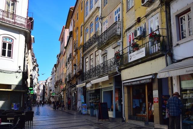 Baixa de Coimbra Portugal