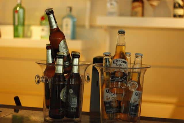 Cervejas liberadas num cruzeiro