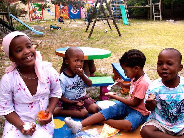 Crianças na África