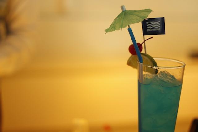 Drink Curaçao blue
