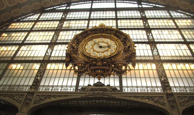 Relógio Museu D'Orsay entrada
