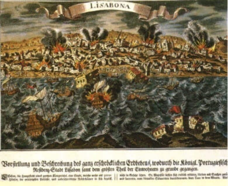 Terremoto de Lisboa - arte antiga