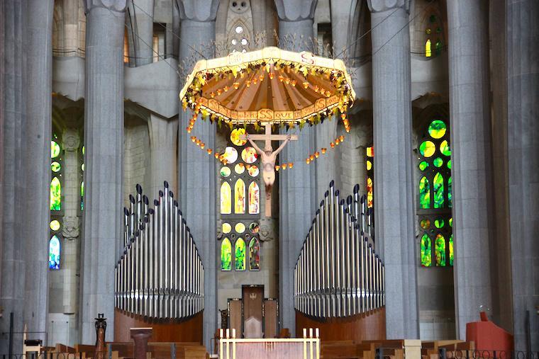 Altar da Sagrada Família de Barcelona