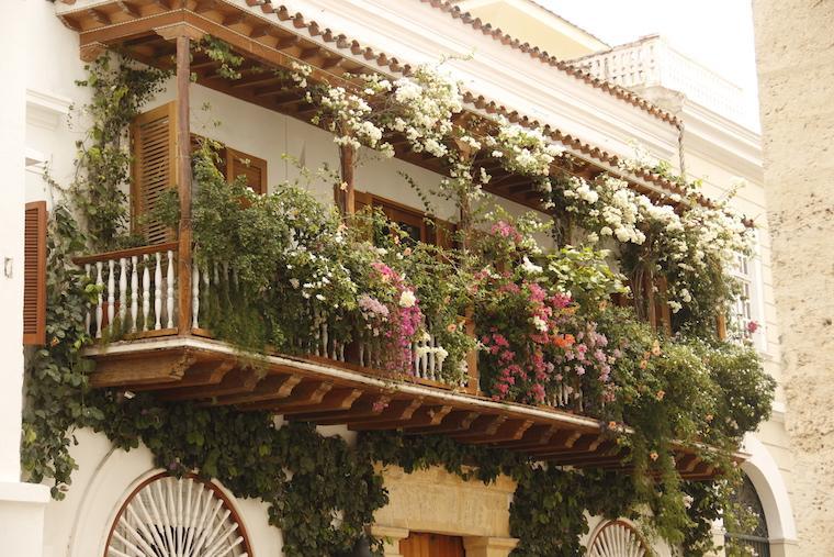 Casarão no Centro Histórico de Cartagena