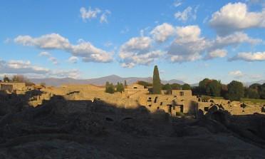 Visita às ruínas de Pompeia, Itália, e arredores