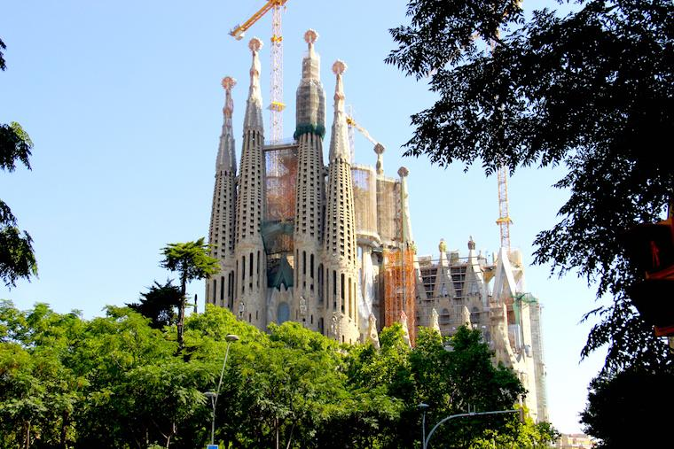 Visita à Sagrada Família, Barcelona