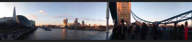 Tower Bridge Londres Panorama 1