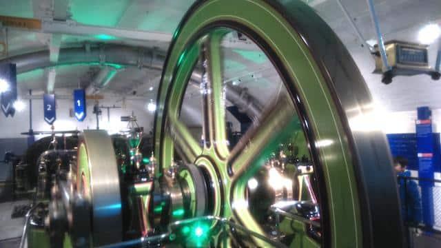 Tower Bridge Londres Sala das Maquinas