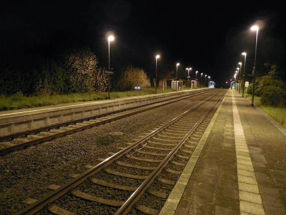 Trem de Portugal para Espanha