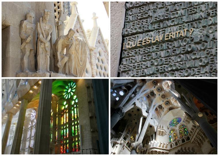Colagem Sagrada Família, Barcelona