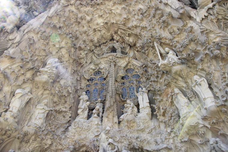 Detalhes da Sagrada Família, Barcelona