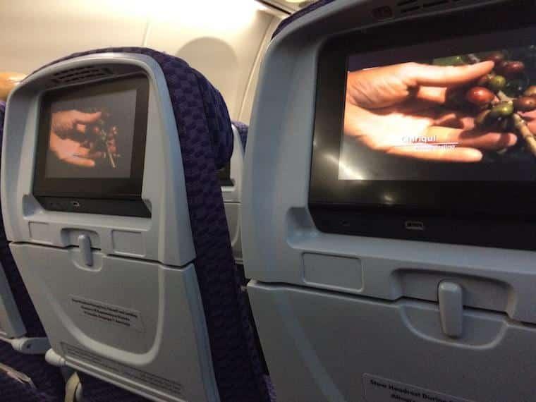 entretenimento de bordo da Copa Airlines