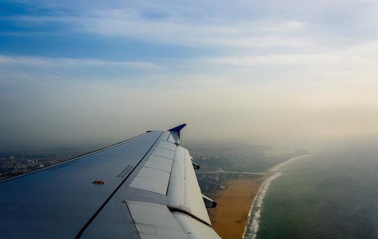 Experiência de viagem avião
