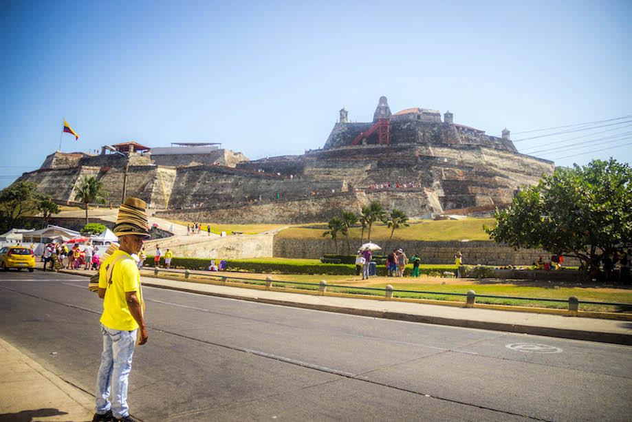 O que fazer em Cartagena das Índias: Castillo San Felipe de Barajas