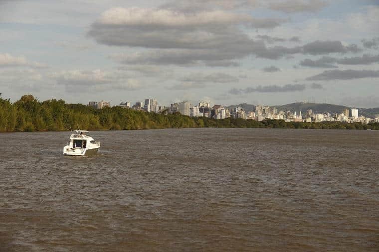 passeio barco guaíba