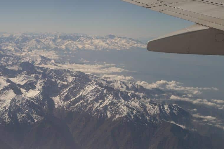 voar para o Chile