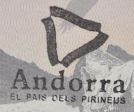 Andorra - Carimbo