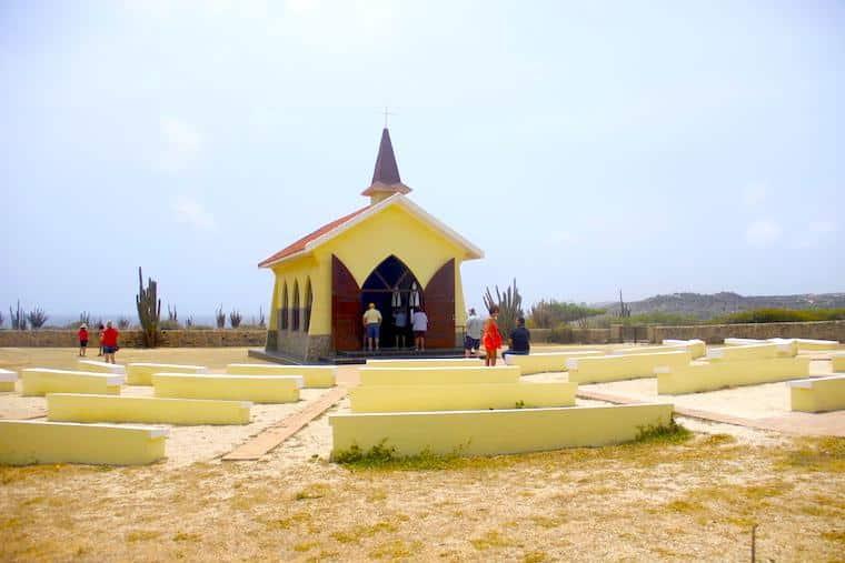Capela em Aruba