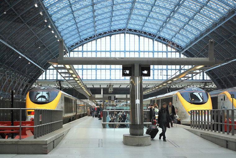 Como viajar de trem eurostar entre paris e londres 360meridianos - Consigne saint pancras londres ...