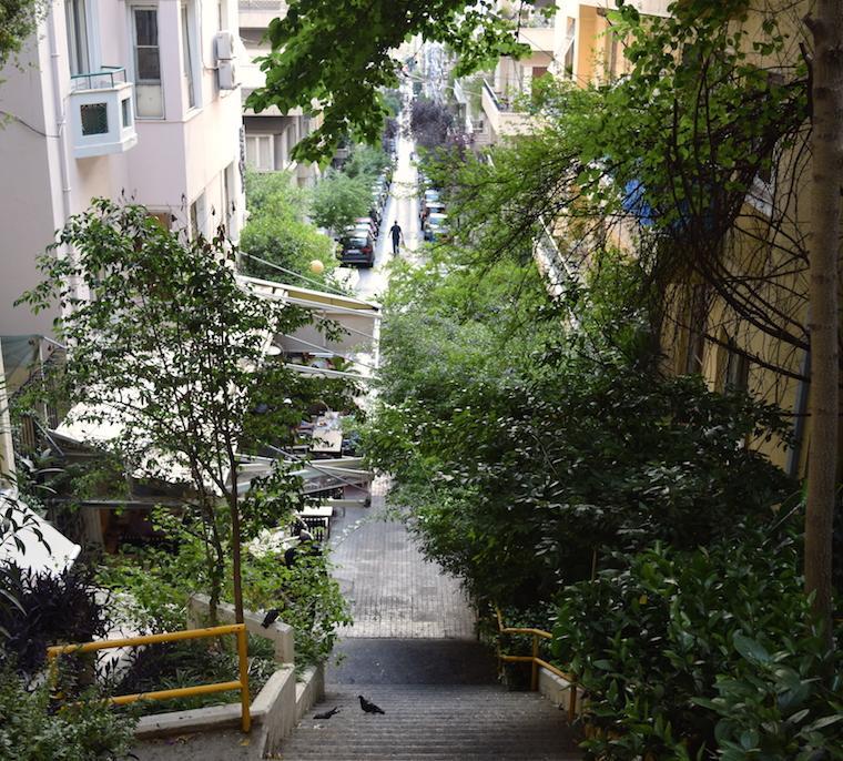 Onde ficar em Atenas Kolonaki