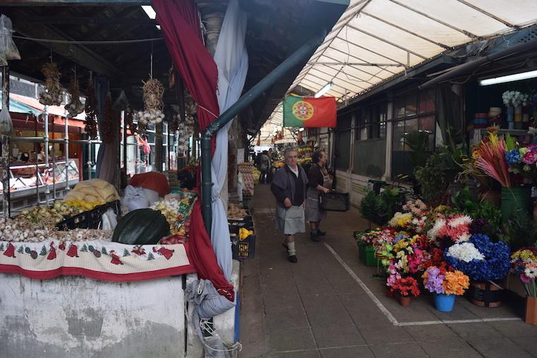 Mercado do Bolhão, em Porto