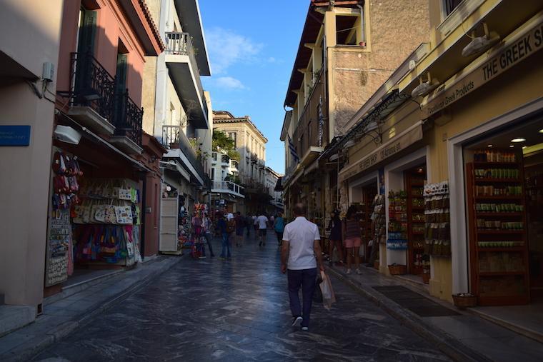Onde ficar em Atenas Plaka