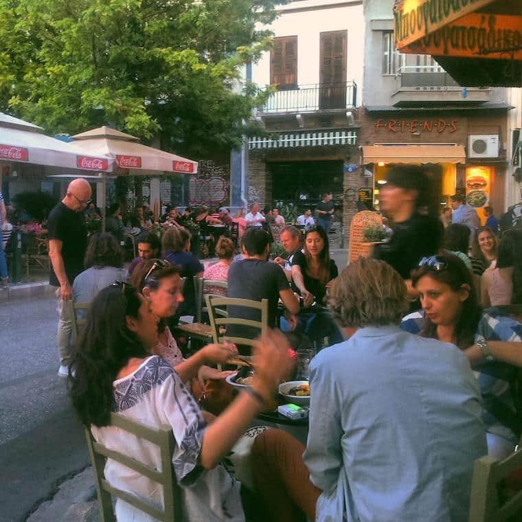 Onde ficar em Atenas Psirri