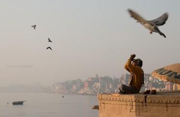Ensaio fotográfico em Varanasi, na Índia