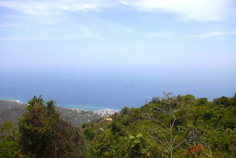 Vista do Mar do Caribe, Venezuela