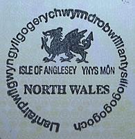 Carimbos de Passaporte - País de Gales